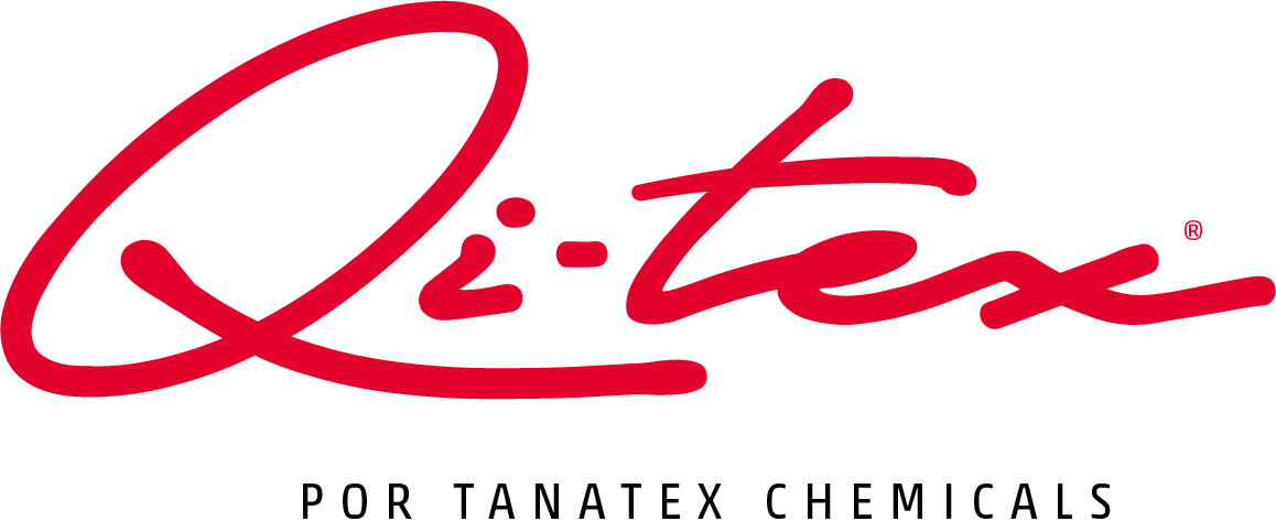 Logo qi-tex por tanatex chemicals